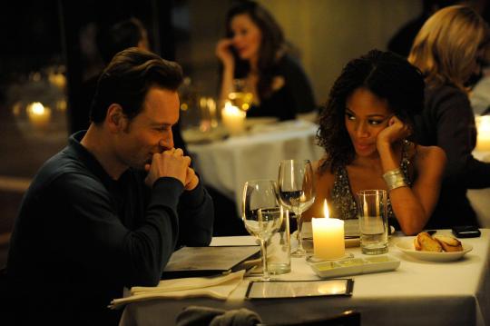 "Michael Fassbender et Nicole Beharie dans ""Shame"""