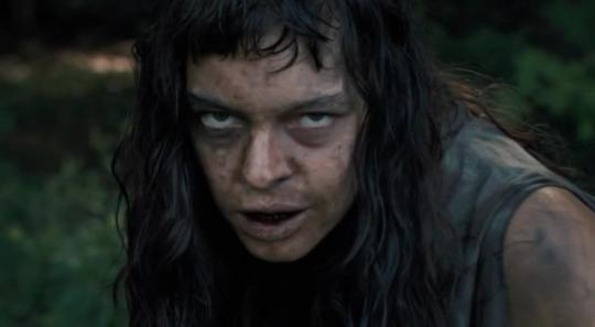 "Pollyanna McIntosh dans ""The Woman"""