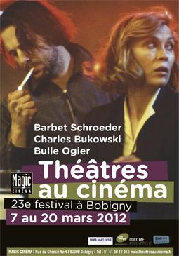 L'affiche de l'édition 2012 du festival Théâtres au cinéma