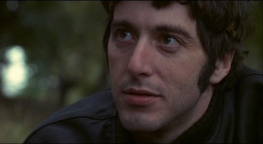 """Al Pacino dans """"Panique à Needle Park"""""""