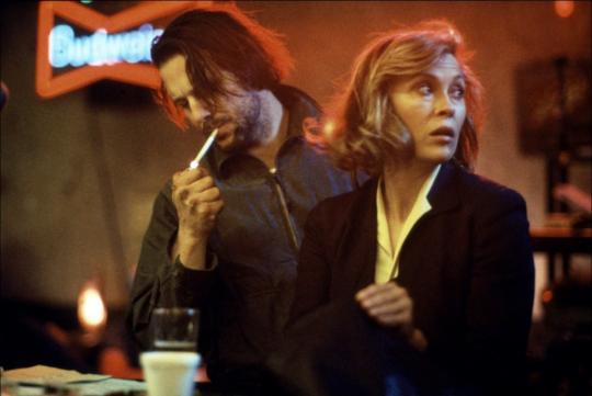 Mickey Rourke et Faye Dunaway