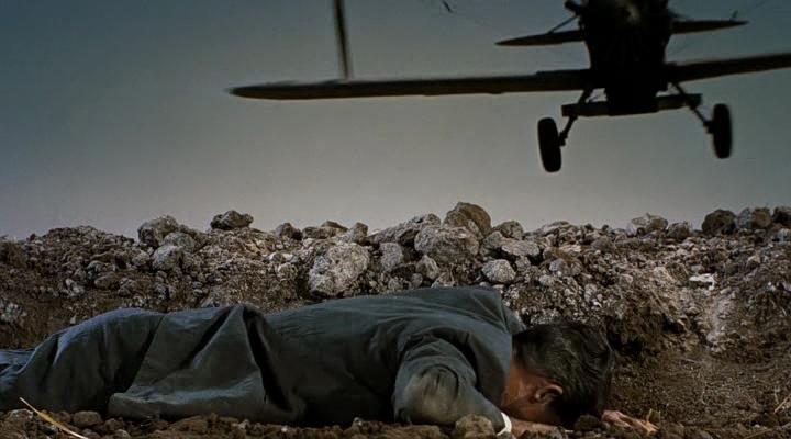 """Cary Grant dans """"La Mort aux trousses"""""""