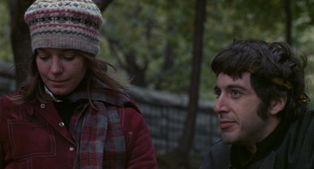 """Kitty Winn et Al Pacino dans """"Panique à Needle Park"""""""