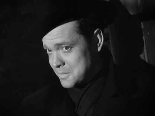 """Orson Welles dans """"Le Troisième homme"""""""