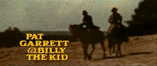 Générique de Pat Garrett & Billy The Kid