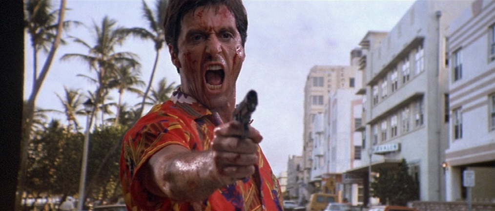 "Al Pacino dans ""Scarface"""