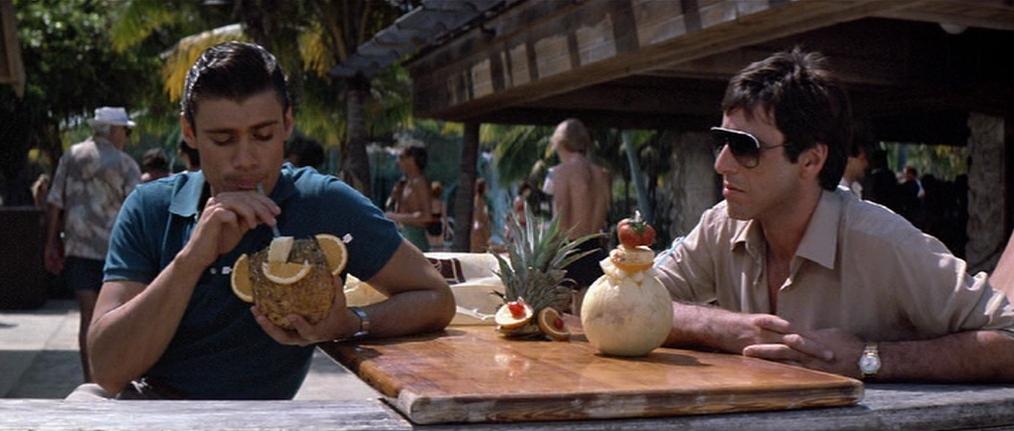 """Steven Bauer et Al Pacino dans """"Scarface"""""""