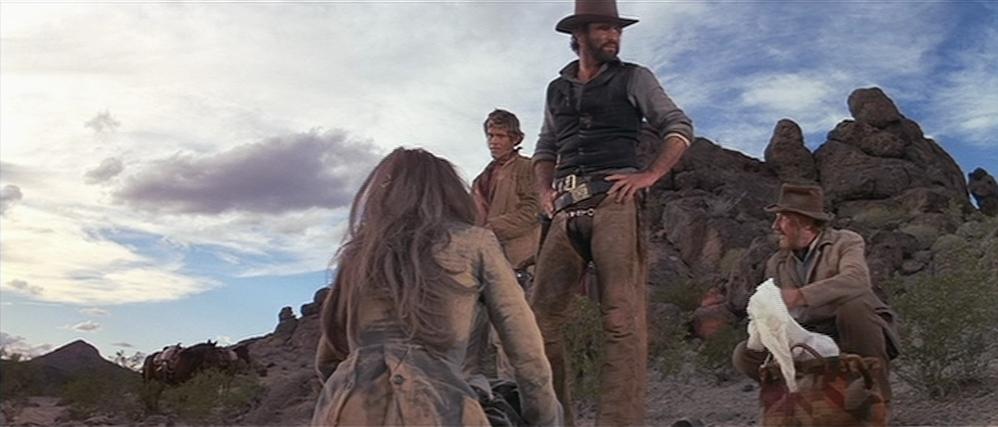 "Burt Reynolds, Bo Hoskins, Jack Warden et Sarah Miles dans ""Le Fantôme de Cat Dancing"""