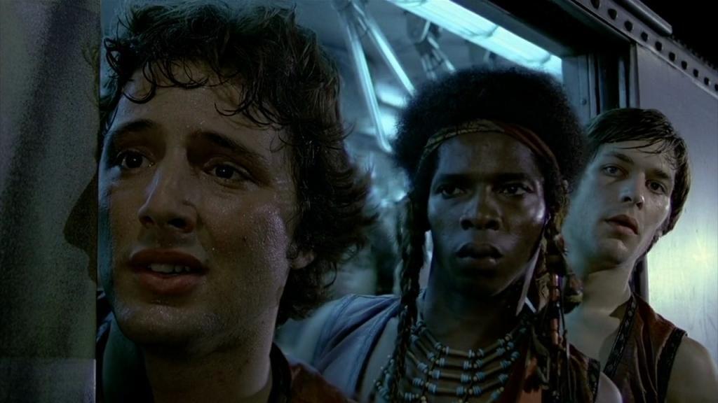 """Terry Michos, David Harris et James Remar dans """"Les Guerriers de la nuit"""" (""""The Warriors"""")"""
