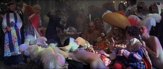 """Séquence de l'orgie dans """"Les Diables"""""""