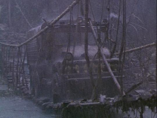 """La scène de la traversée du pont dans """"Le Convoi de la peur"""""""