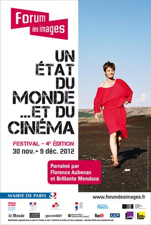 Un état du monde et du cinéma, affiche de l'édition 2012