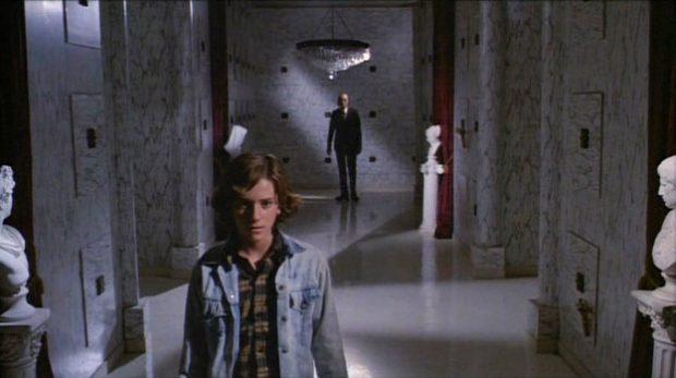 """Michael Baldwin et Angus Scrimm dans """"Phantasm"""""""