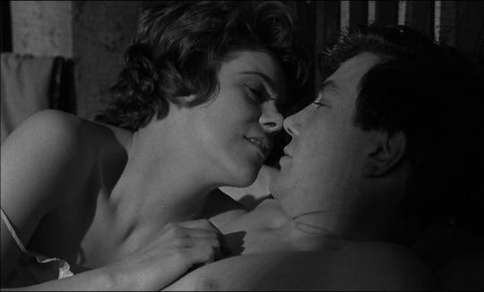 """Rachel Roberts et Albert Finney dans """"Samedi soir, dimanche matin"""""""
