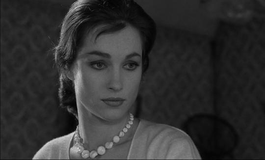 """Shirley Anne Field dans """"Samedi soir, dimanche matin"""""""