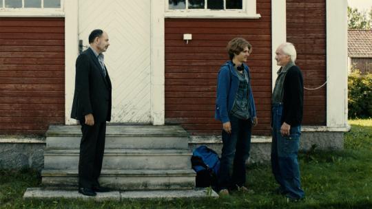 """Anastasios Soulis, Jean-Pierre Darroussin et Tord Peterson dans """"Rendez-vous à Kiruna"""""""