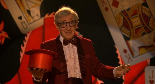 "Woody Allen dans ""Scoop"""