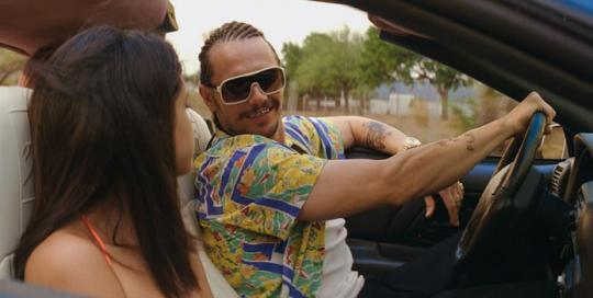 "James Franco dans ""Spring Breakers"""