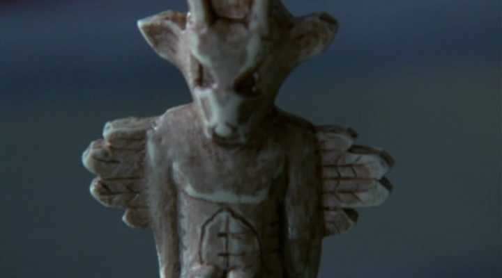 Une statuette du Wendigo.