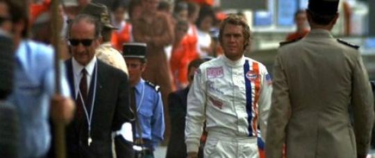 """Steve McQueen dans """"Le Mans"""""""