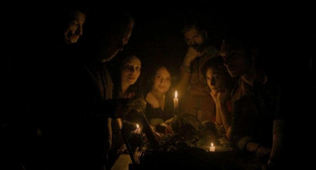 "Toby Jones, Fatma Mohamed, Chiara d'Anna, Susanna Capellarro dans ""Berberian Sound Studio"""
