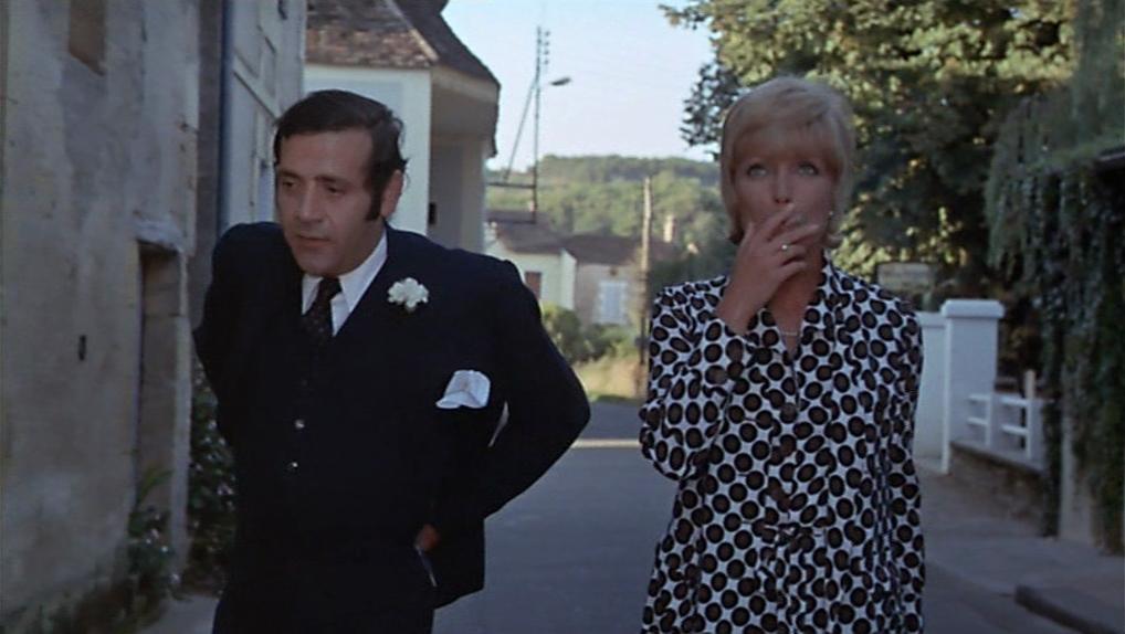 """Jean Yanne et Stéphane Audran dans """"Le Boucher"""""""