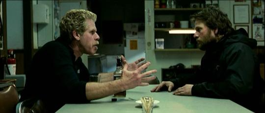 "Ron Perlman et James LeGros dans ""The Last Winter"""
