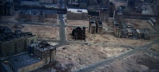L'église dévastée de « Wolfen »