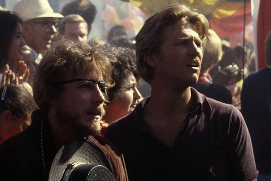"John Heard et Jeff Bridges dans ""Cutter's Way"" (""La Blessure"")"