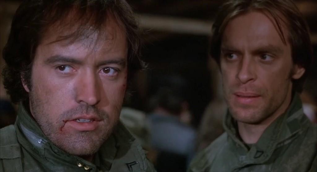 """Powers Boothe et Keith Carradine dans """"Sans retour"""""""