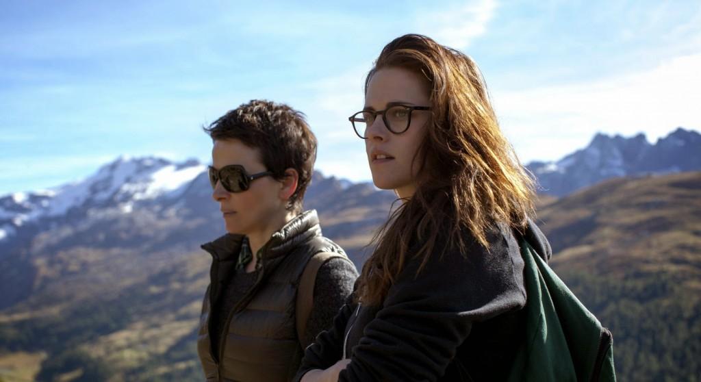 "Juliette Binoche et Kristen Stewart dans ""Sils Maria"""