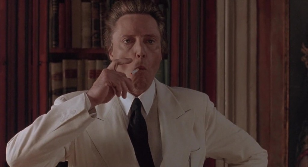 "Christopher Walken dans ""Étrange séduction"" (""The Comfort of Strangers"")"