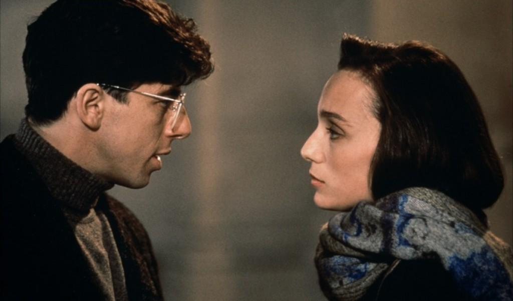 "Patrick Bruel et Kristin Scott Thomas dans ""Force majeure"" (1989)"