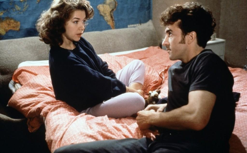 """Sabine Haudepin et François Cluzet dans """"Force majeure"""" (1989)"""