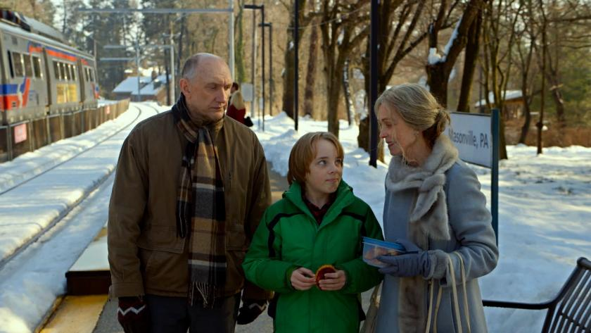 "Peter McRobbie, Ed Oxenbould et Deanna Dunagan dans ""The Visit"""