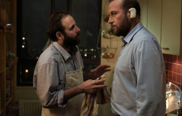 """Vincent Macaigne et François Damiens dans """"Des nouvelles de la planète Mars"""""""