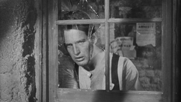 """Paul Newman dans """"Le Gaucher"""""""