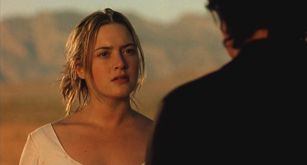 "Kate Winslet et Harvey Keitel dans ""Holy Smoke"""