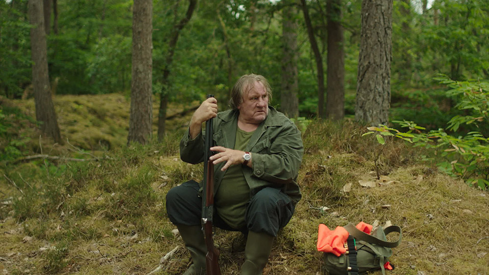 "Gérard Depardieu dans ""The End"""