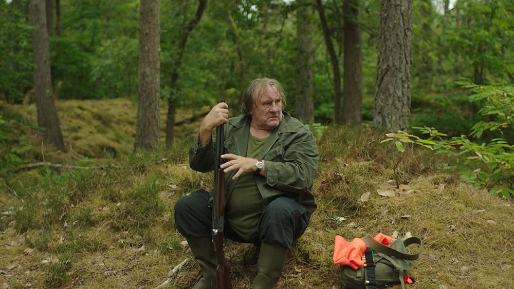 """Gérard Depardieu dans """"The End"""""""