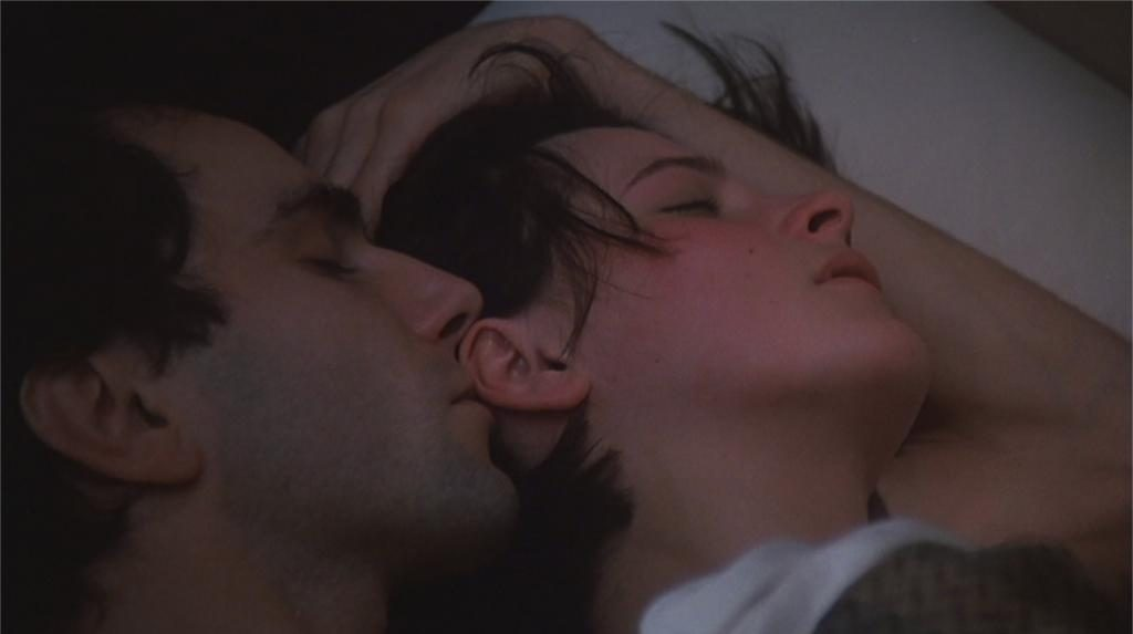 """Daniel Day-Lewis et Juliette Binoche dans """"L'Insoutenable légèreté de l'être"""""""
