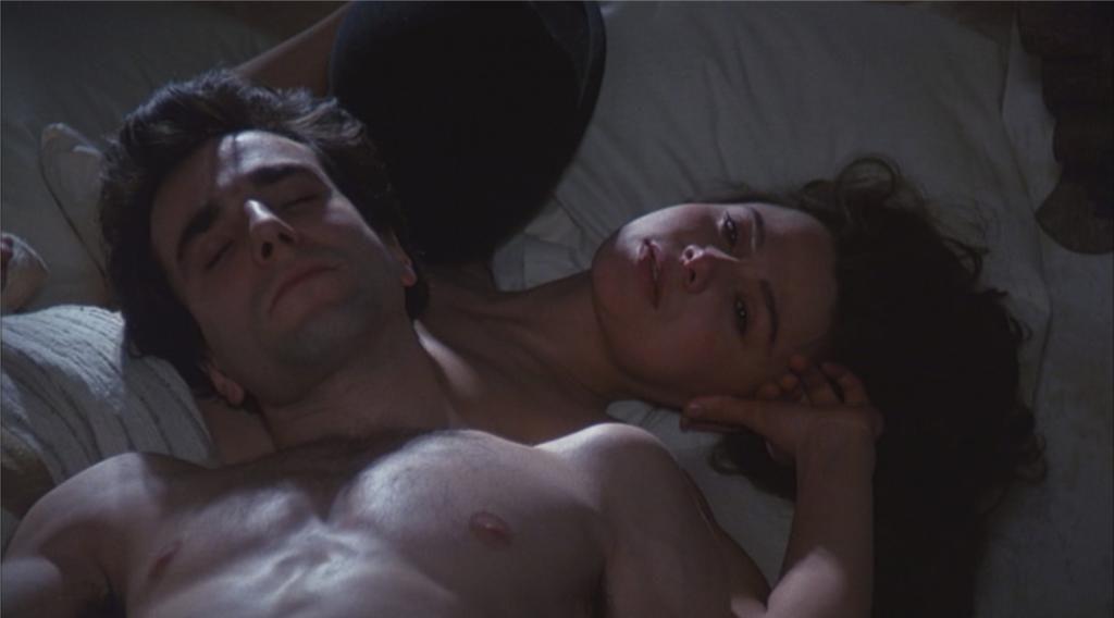 """Daniel Day-Lewis et Lena Olin dans """"L'Insoutenable légèreté de l'être"""""""