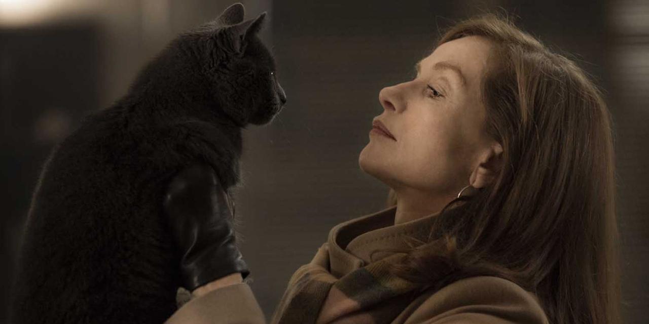 "Isabelle Huppert dans ""Elle"""