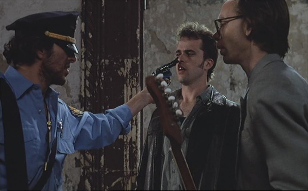 """Joe Strummer et Kevin J. O'Connor dans """"Candy Mountain"""""""