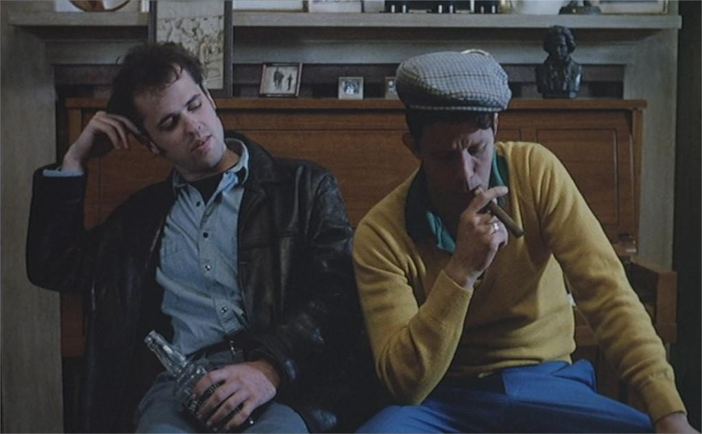 "Kevin J. O'Connor et Tom Waits dans ""Candy Mountain"""