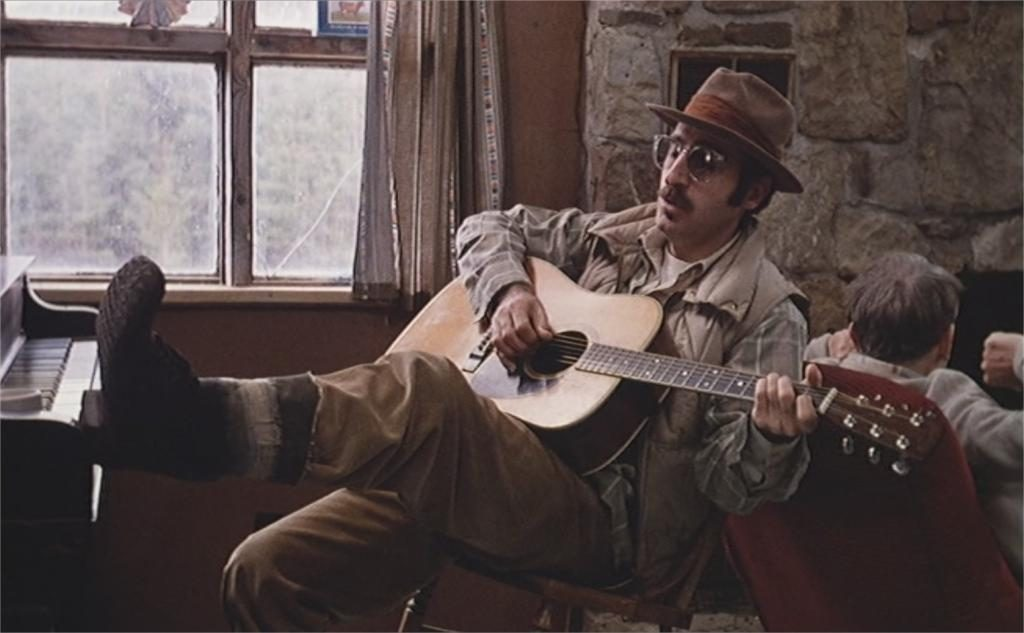 "Leon Redbone dans ""Candy Mountain"""