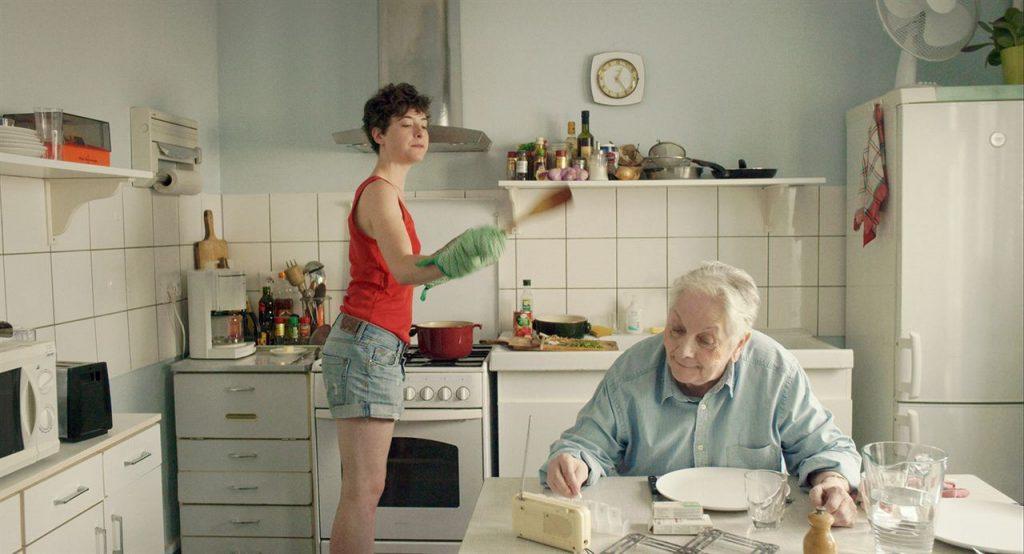 """Salomé Richard et Claude Gensac dans """"Baden Baden"""""""