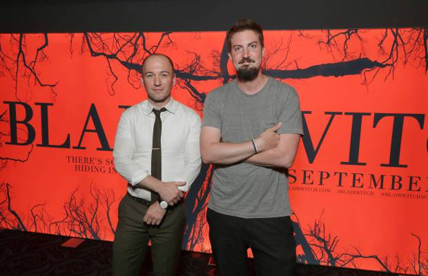 "Simon Barrett et Adam Wingard présentent ""Blair Witch"" au Comic-con 2016"