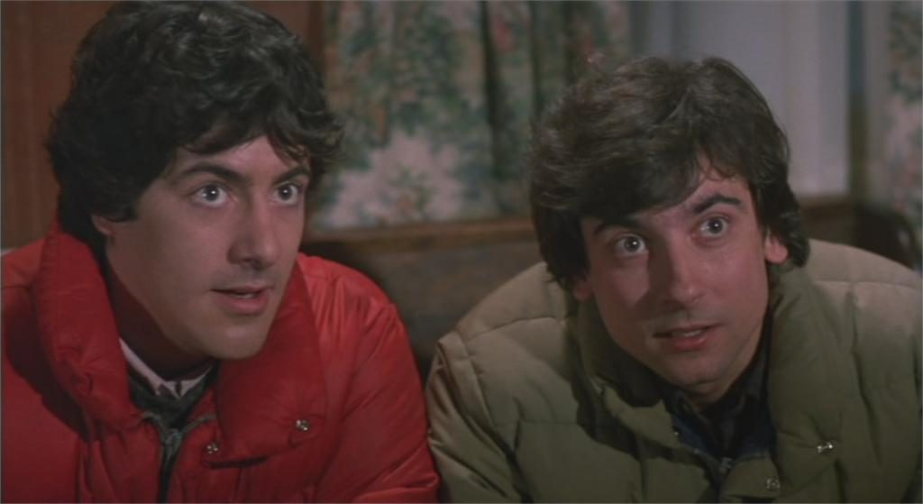 """David Naughton et Griffin Dune dans """"Le Loup-garou de Londres"""""""