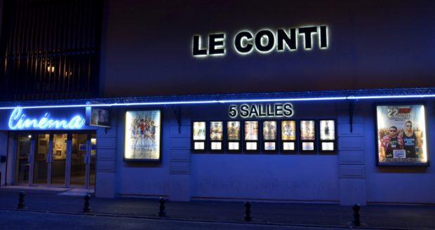 Cinema le Conti, à L'Isle-Adam